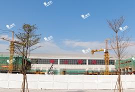 首創禧悅台 香港高鐵1小時直達 珠三角 經濟圈核心地帶 (實景航拍)