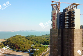 星河山海灣別墅|香港高鐵1小時直達|背山面海|鐵路沿線優質別墅 (實景航拍)